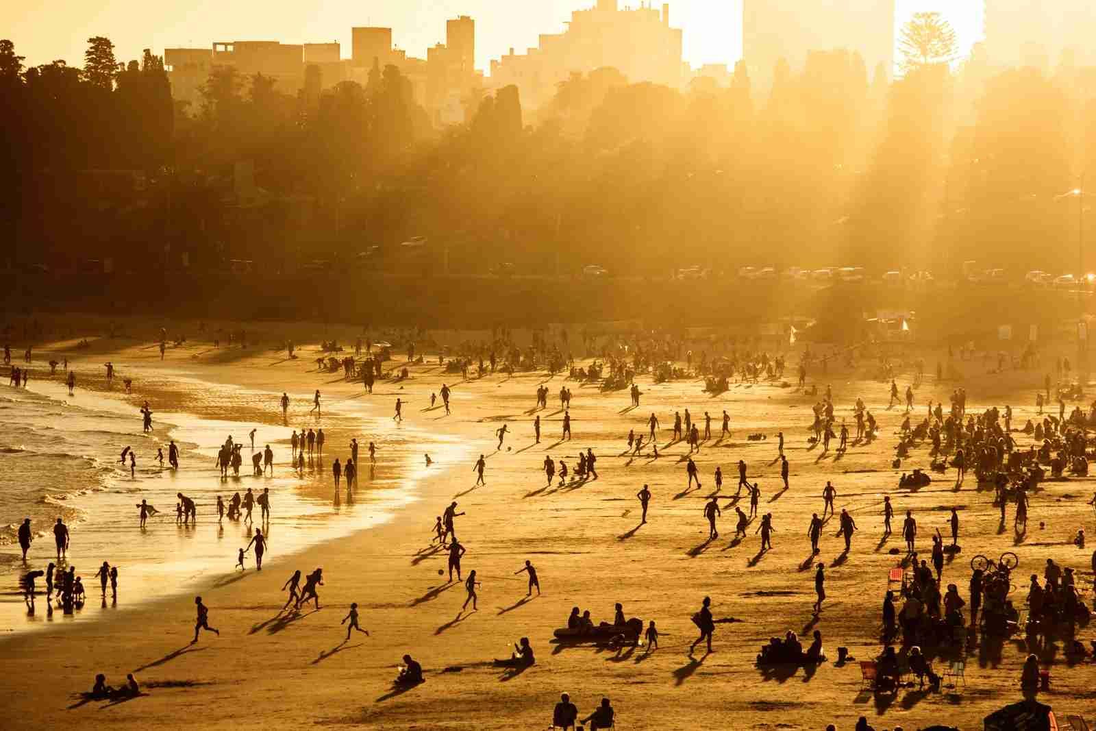 sunset, Montevideo, Uruguay.
