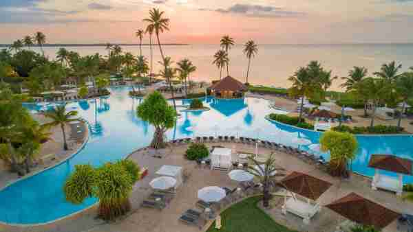 The Resort at Coco Beach features a beautiful beach-front pool area. (Image via Hyatt Hotels)