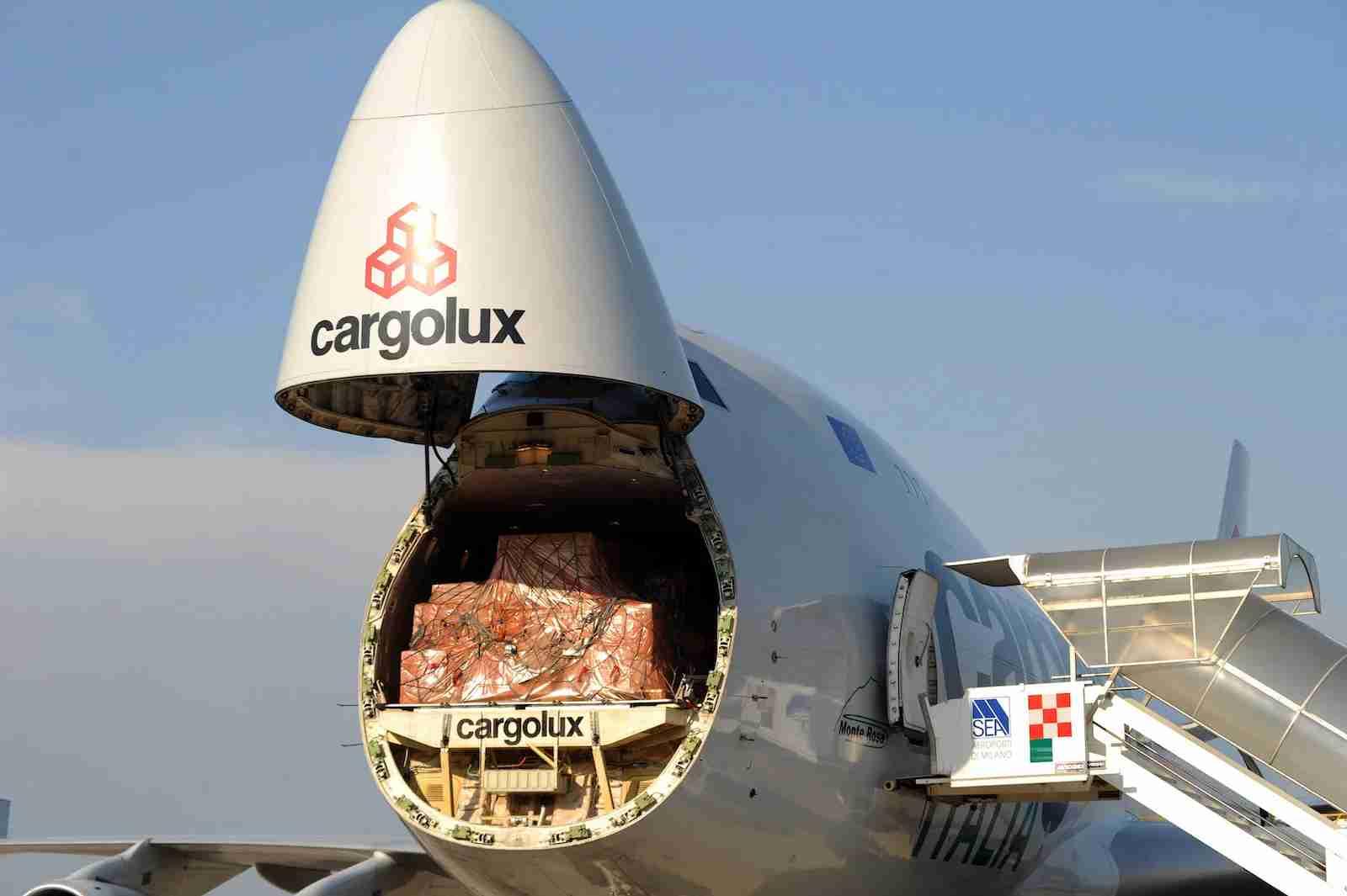 Cargolux Italia Boeing 747-400F Nose Opening
