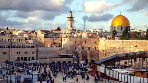 Juerusalem City View Old
