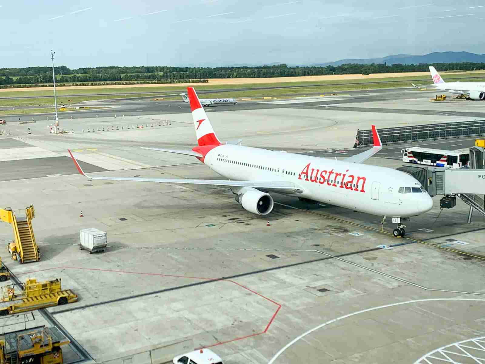 An Austrian Airlines Boeing 767. (Photo by Javier Rodriguez /TPG)