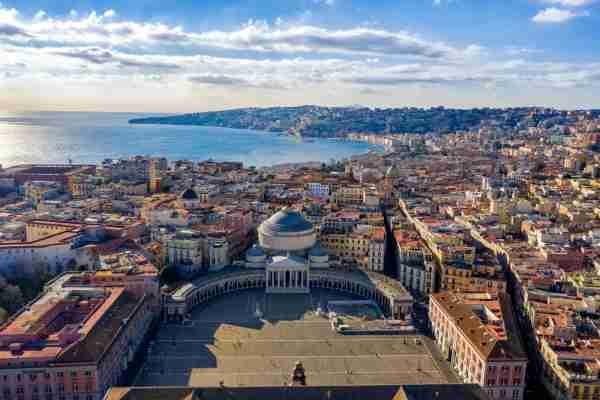 Naples from Piazza del Plebiscito