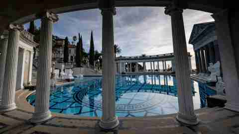 Hearst Castle California Pool