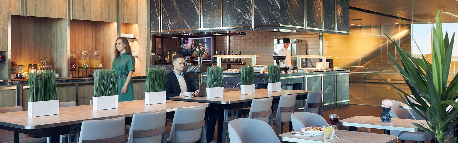 The new Plaza Premium Lounge Helsinki (Image courtesy of Plaza Premium)