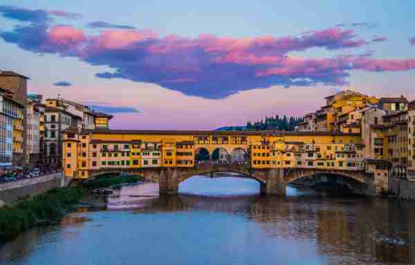 The Ponte Vecchio in Florence. (Photo by Vito Palmisano / Getty Images)