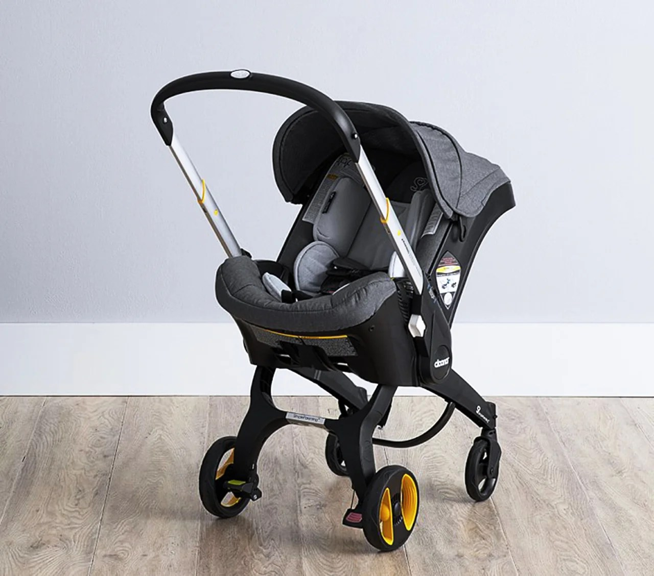 Meet the Car Seat That Converts Into a Stroller in Seconds ...