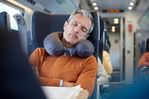 The Correct Way to Wear a Neck Pillow