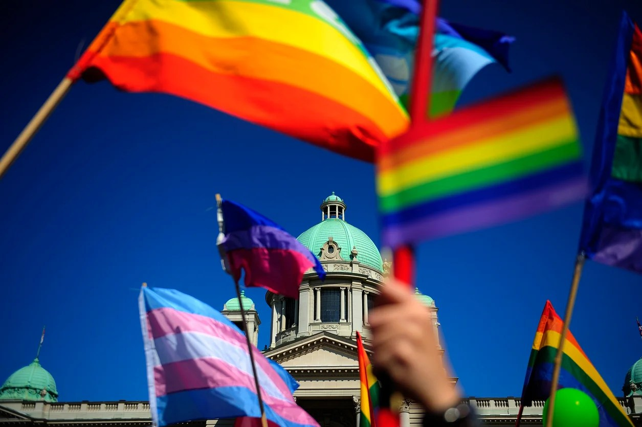 Gay pride can be found in countries all over the world.