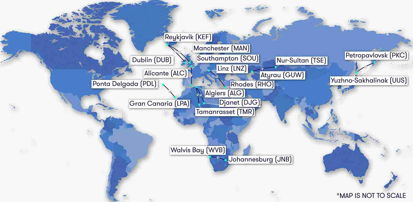 The Longest Routes On A Dash 8 Turboprop