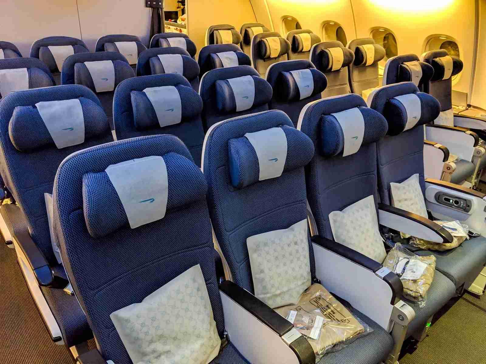 British Airways A380 economy upper deck. (Photo courtesy Katie Genter/The Points Guy)