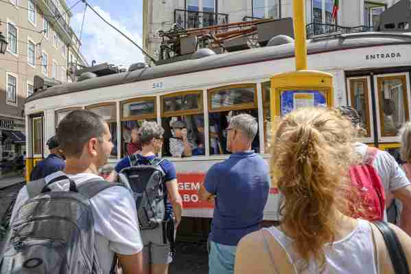 Lisbon Portugal trolley #lisbonportugal
