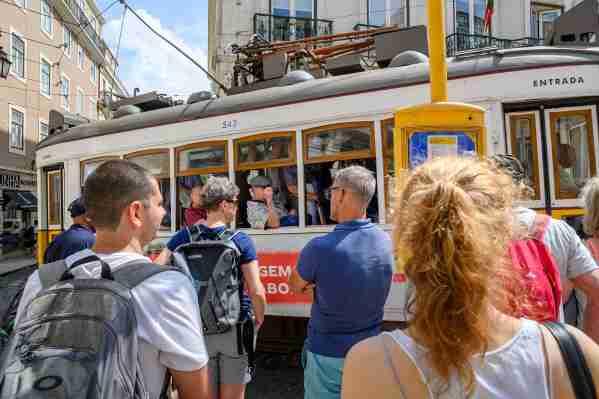 Lisbon Portugal trolley #lisbonportugal