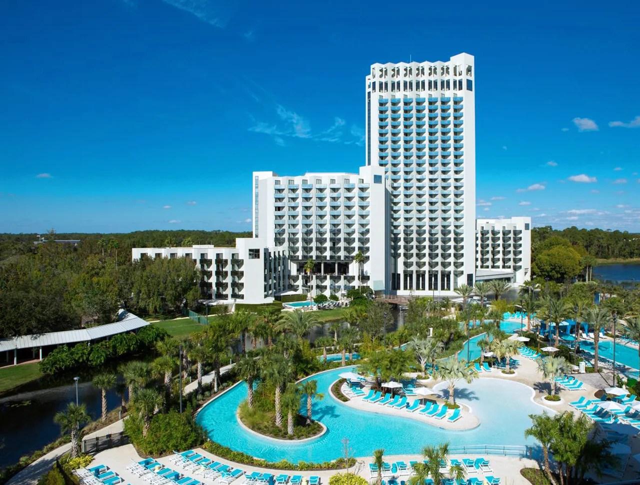 The Hilton Orlando Buena Vista Palace. (Photo courtey of Hilton Orlando Buena Vista Palace)