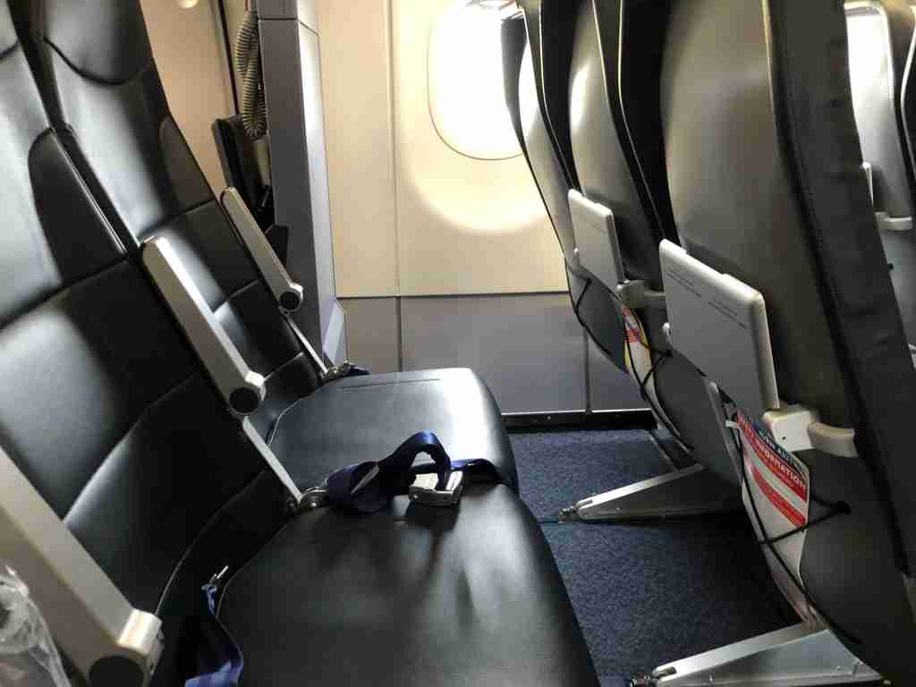"""Small seats to go along with """"smaller"""" fares"""