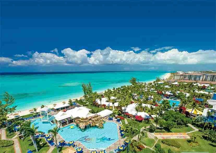 Caribbean Seaside Villages at Beaches Turks & Caicos Resort. (Image courtesy of Beaches Turks & Caicos Resort)