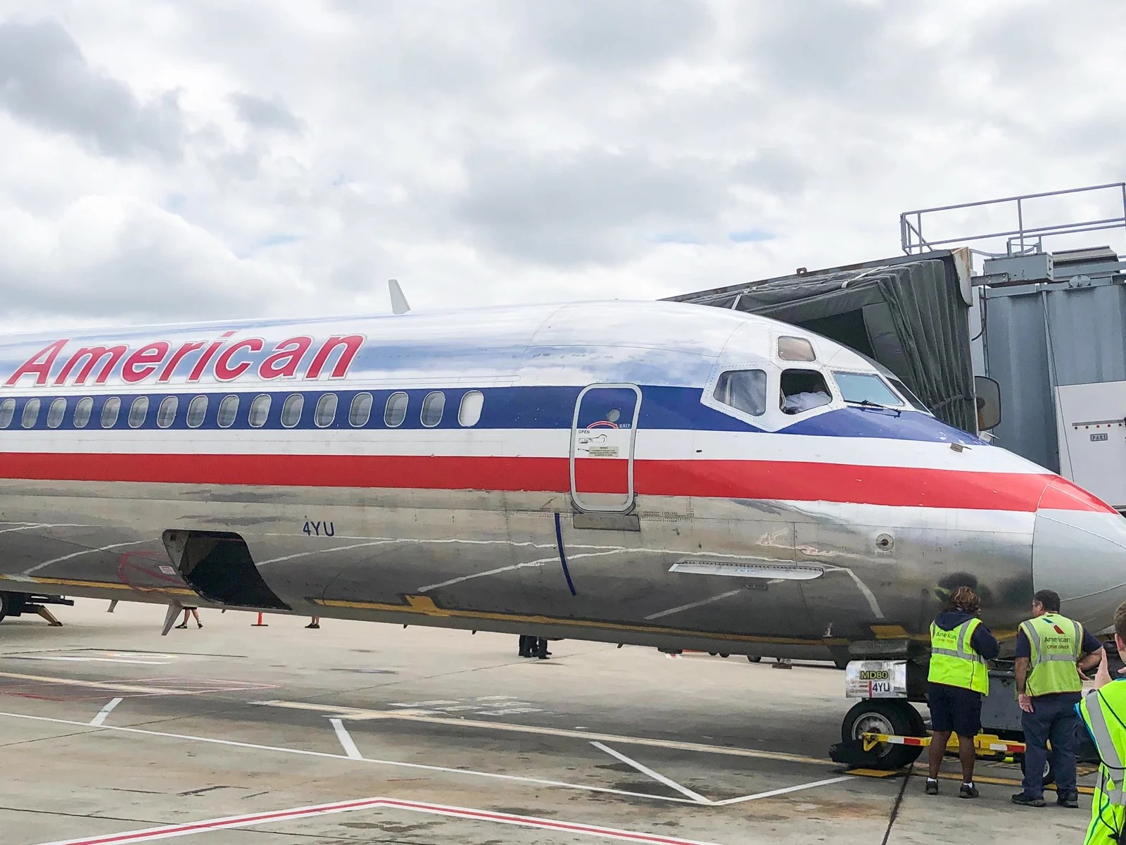 So long, 'Mad Dog.' American Airlines has flown its last 'Super 80' flight