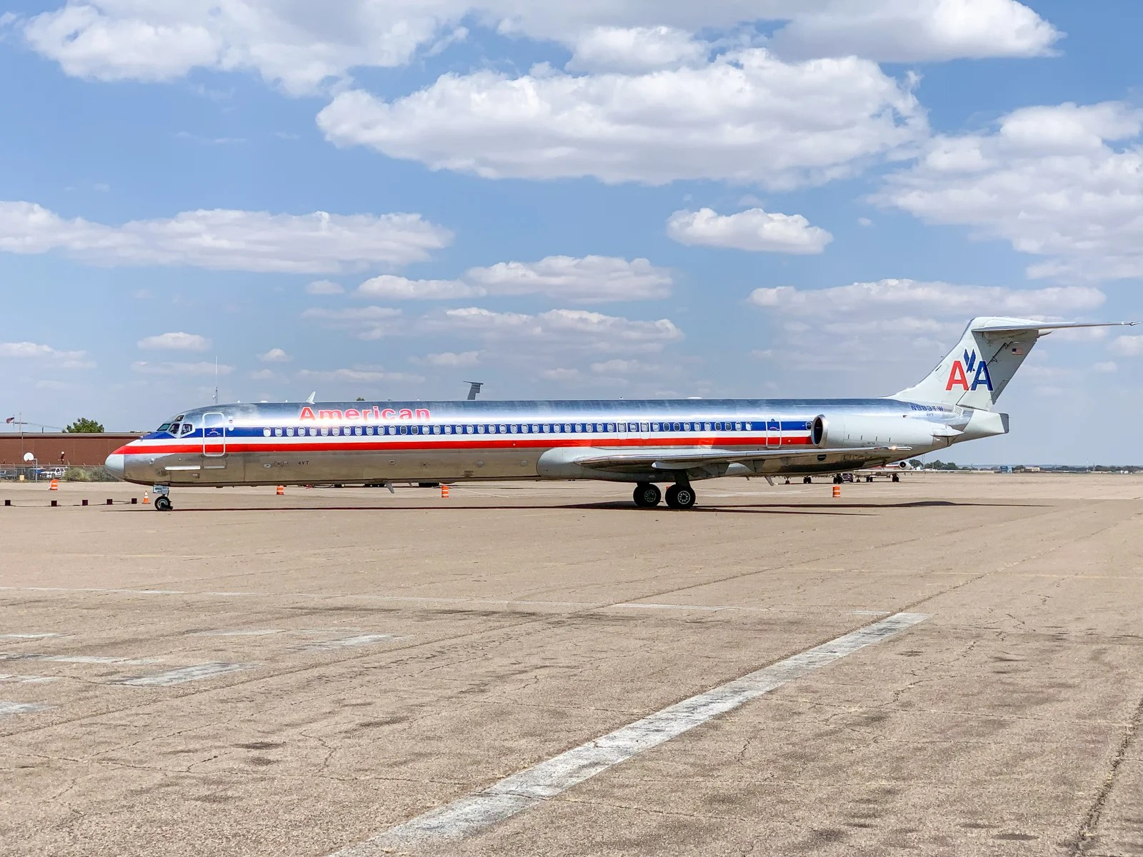 To the 'boneyard': Sending the American Airlines MD-80 into retirement
