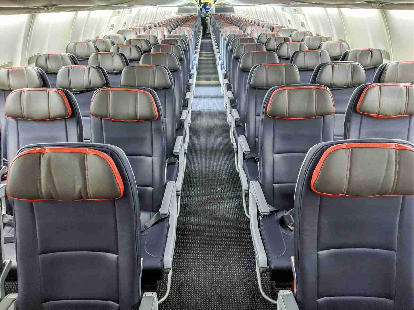 Any economy seat could potentially be reserved for elites and full-fare passengers. (Photo by JT Genter/The Points Guy)