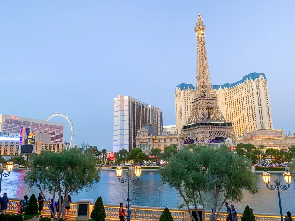 View from the Bellagio (Photo by Summer Hull/The Points Guy)