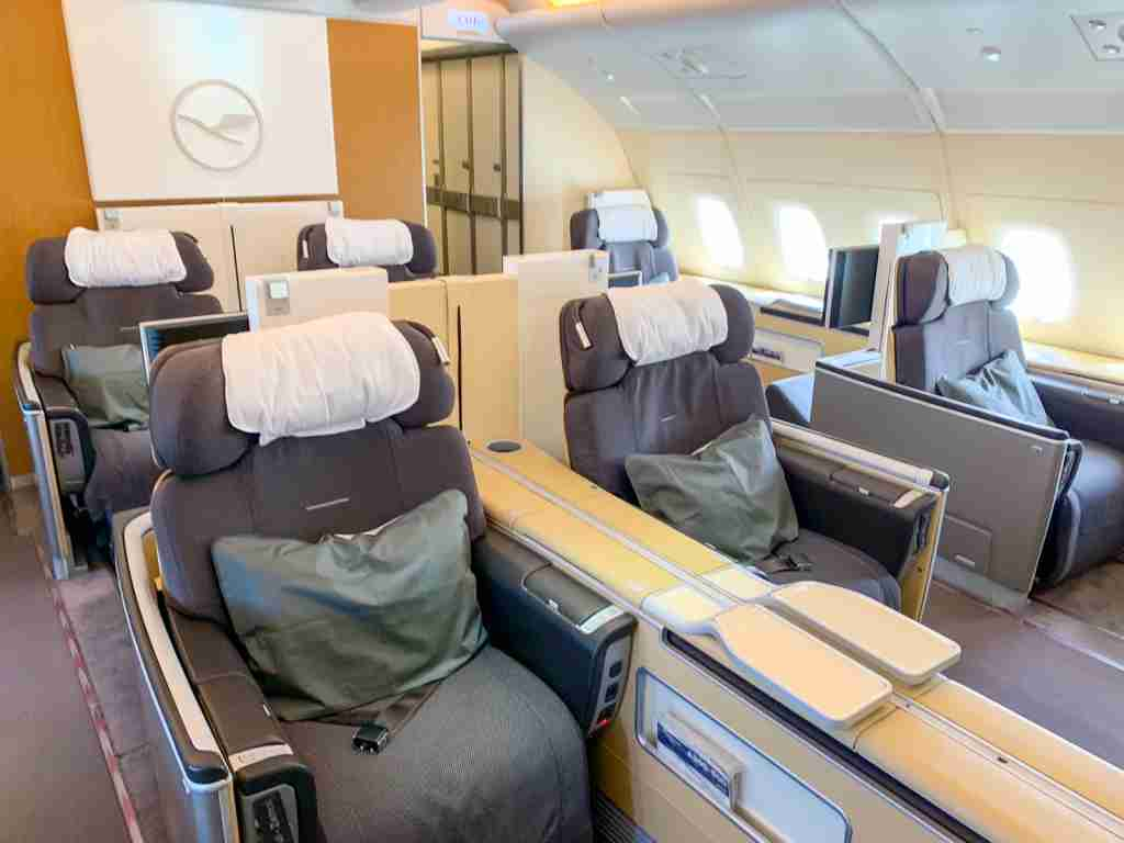 Asiana offers unbelievably cheap rate on Lufthansa first class awards (Photo by Zach Griff/The Points Guy)