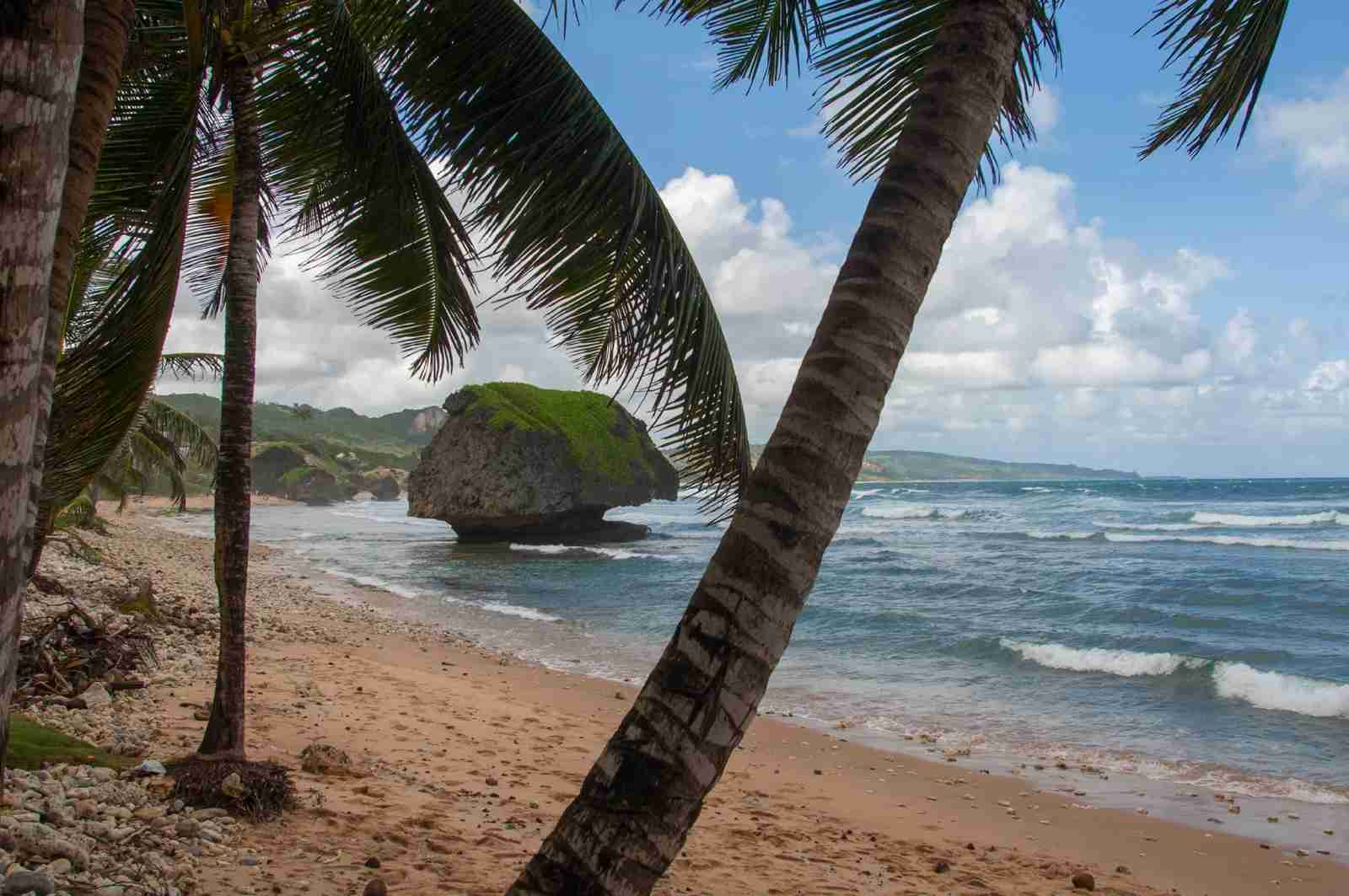 The Soup Bowl at Bathsheba beach. (Photo by Avalon/Universal Images Group/Getty Images)