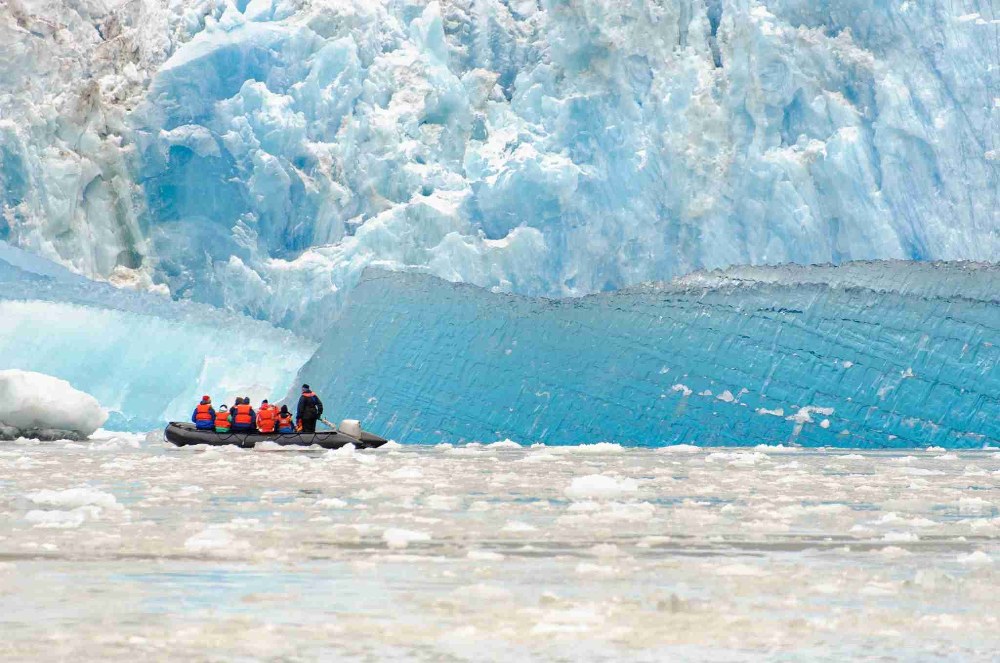 Some ships offer skift expeditions that get close to Tracy Arm. (Photo by earleliason/Getty Images)