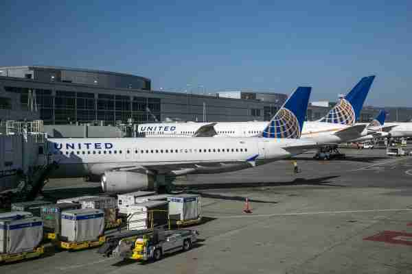SAN FRANCISCO, CA - SEPTEMBER 11: A number of United Airlines 787 Dreamliners are parked at San Francisco International Airport gates on September 11, 2017 in San Francisco, California. United Airlines continues to expand its gateway air operations to Asia and Europe through SFO by adding routes to Bejing, Tokoyo, Shanghai, and Hong Kong. (Photo by George Rose/Getty Images)