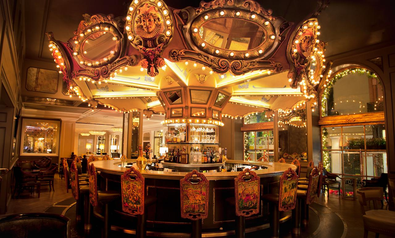 The carousel bar at the Hotel Monteleone. (Photo courtesy fo Hotel Monteleone)