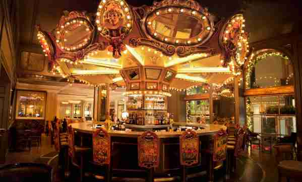 The carousel bar at the Hotel Monteleone. (Photo courtesy fo Hotel Monteleone)