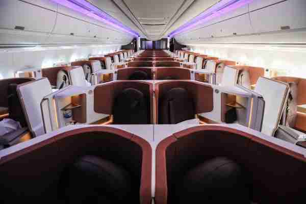 You can transfer Membership Rewards to Virgin Atlantic for an Upper Class Suite on this A350.
