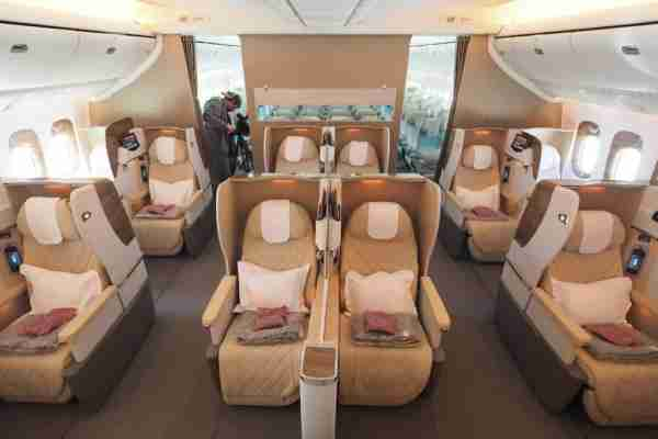 """Emirates plans to operate its """"latest products"""" on the A350-900, though hopefully we'll see direct aisle access with a new business seat."""