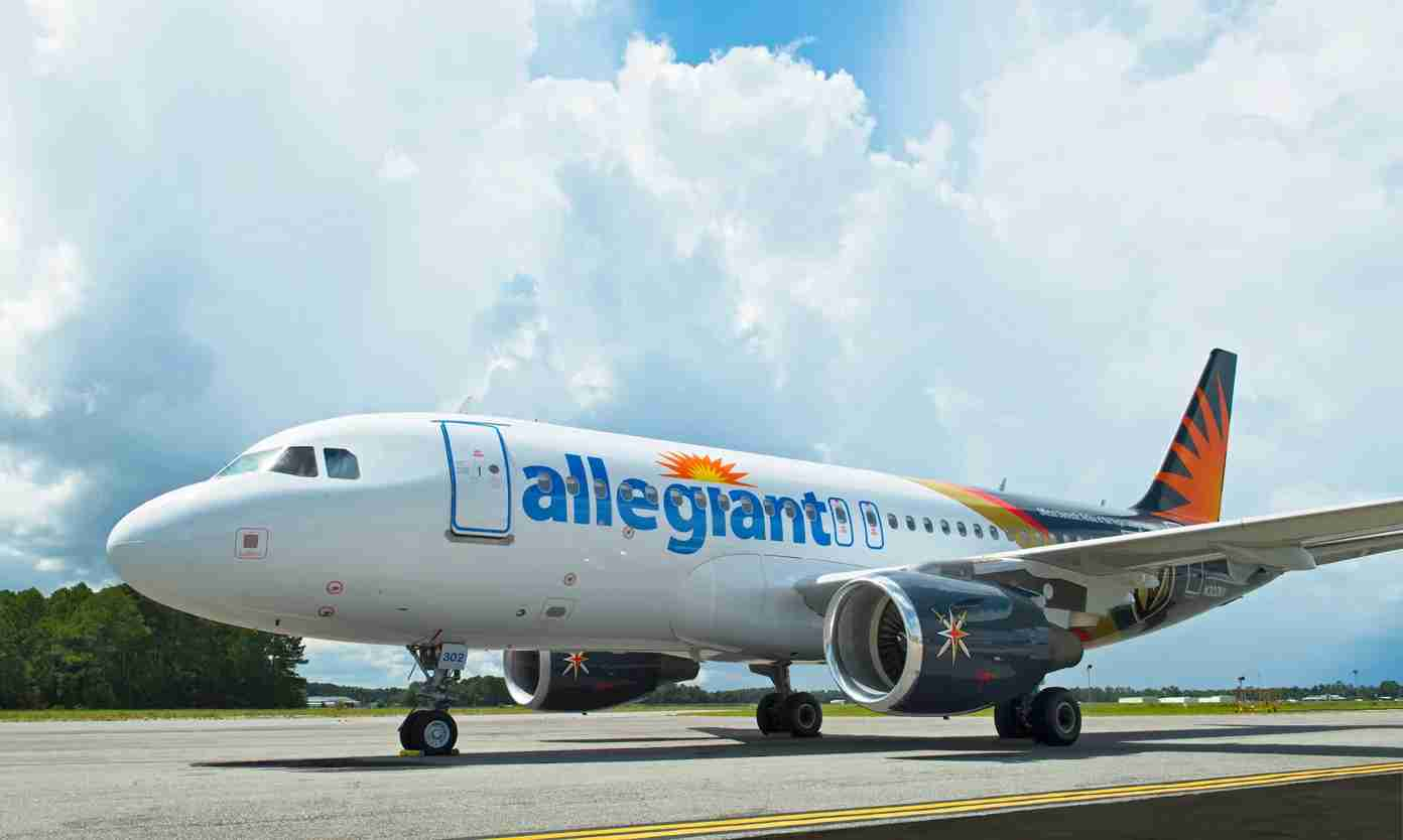 An Allegiant Air (Photo courtesy of Allegiant)