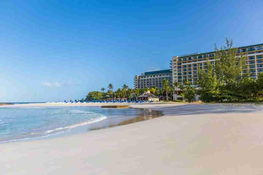 The beach at Hilton Barbados Resort (Photo courtesy of Booking.com)