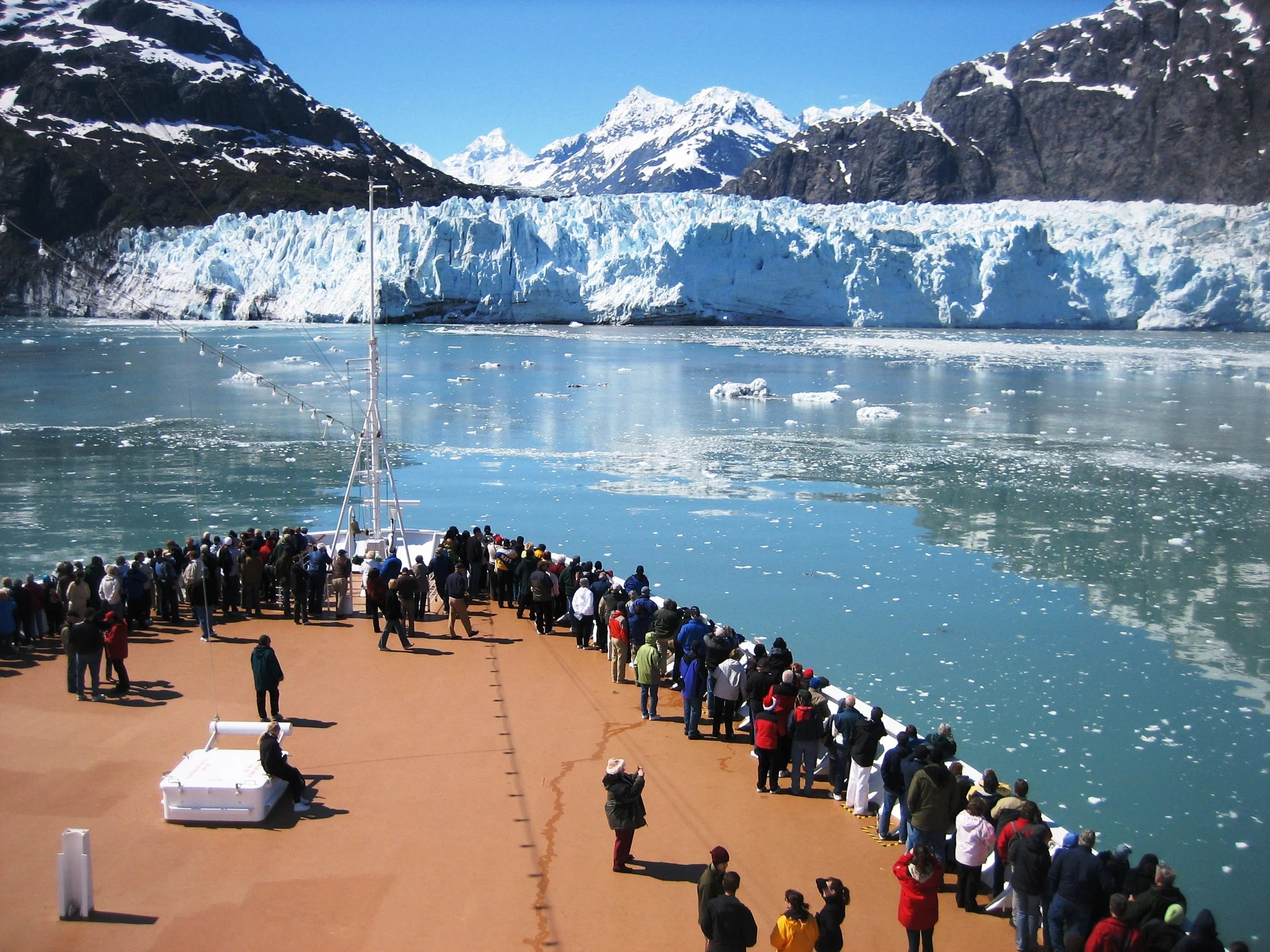 Margerie Glacier in Glacier Bay National Park