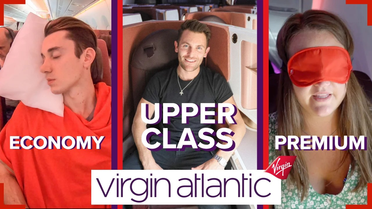 Watch TPG UK review all 3 cabins on Virgin Atlantic's brand-new Airbus A350