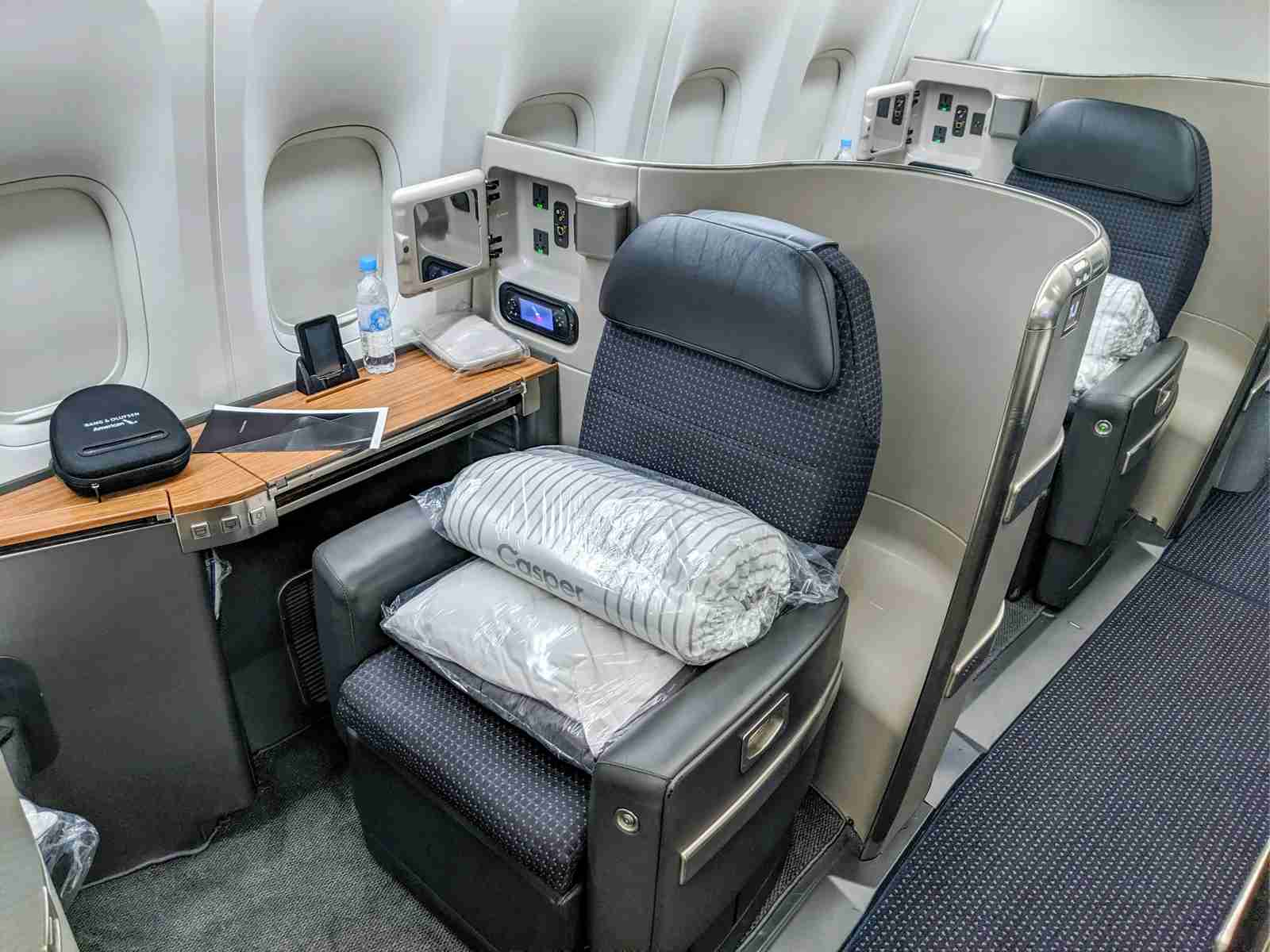 American Airlines First class (Photo by JT Genter/The Points Guy)