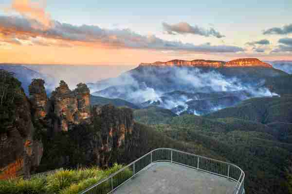 Blue Mountains National Park. (Photo by Andrew Merry/Getty Images)