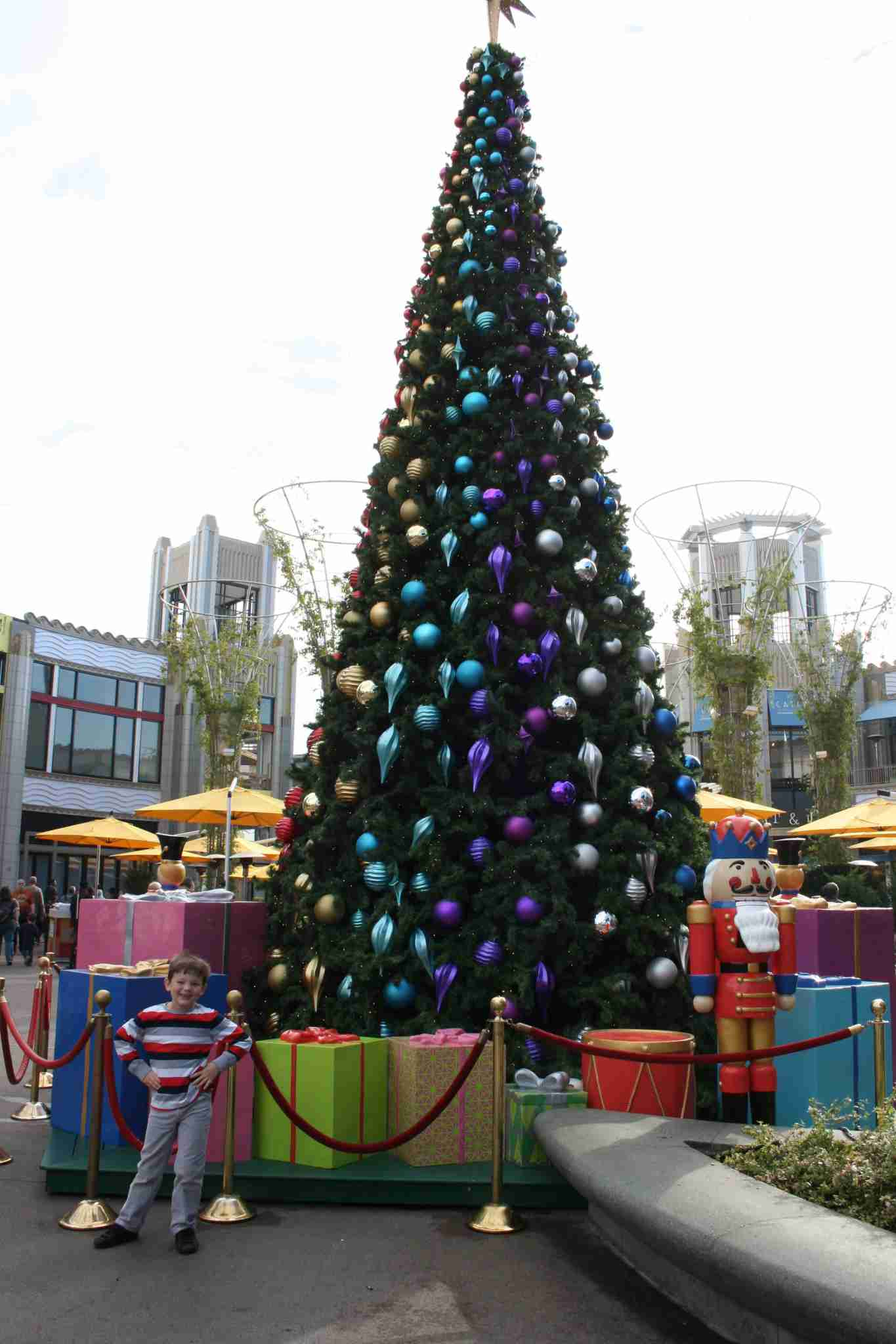Downtown Disney Christmas tree. (Photo by Julie Bigboy)