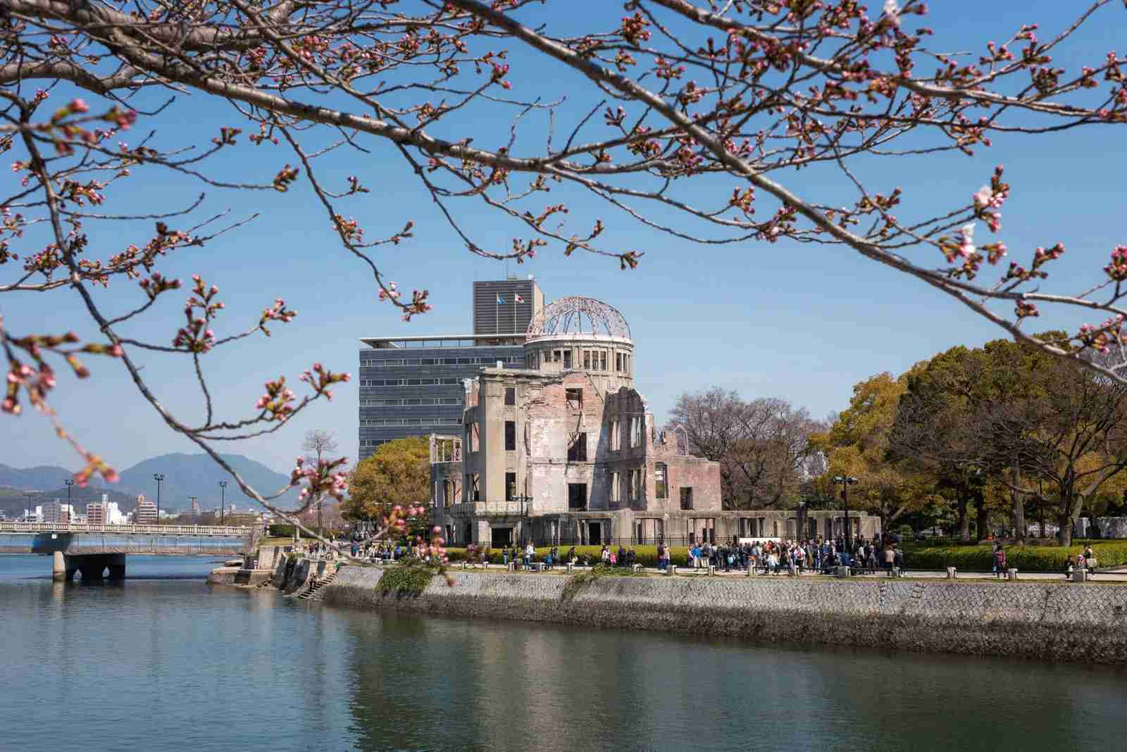 The Hiroshima Peace Memorial. (Photo by Thanan/Getty Images)
