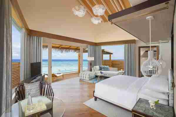 (Photo courtesy of the JW Marriott Maldives)