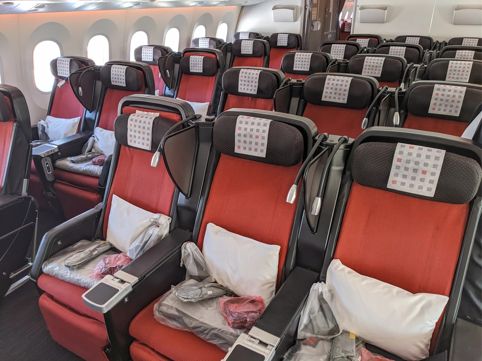So close to greatness: A review of Japan Airlines in a Boeing 787-9 in premium economy from Tokyo to Dallas