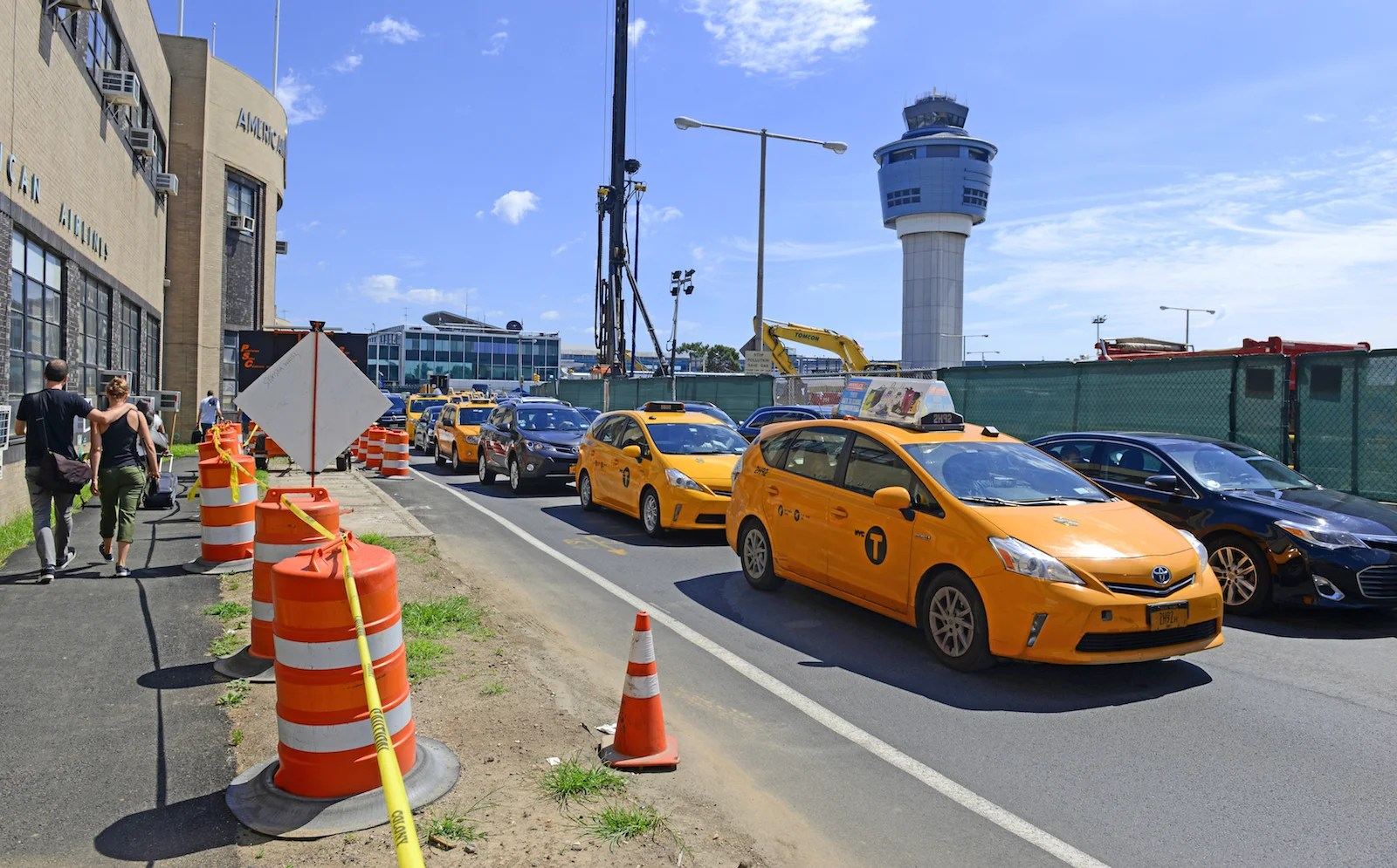 Leaving LaGuardia by car may take longer than your flight to NYC