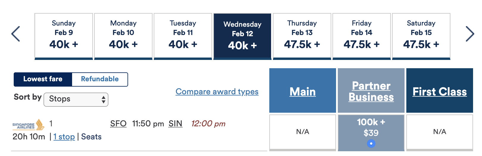 How to book Singapore Airlines awards using Alaska Miles