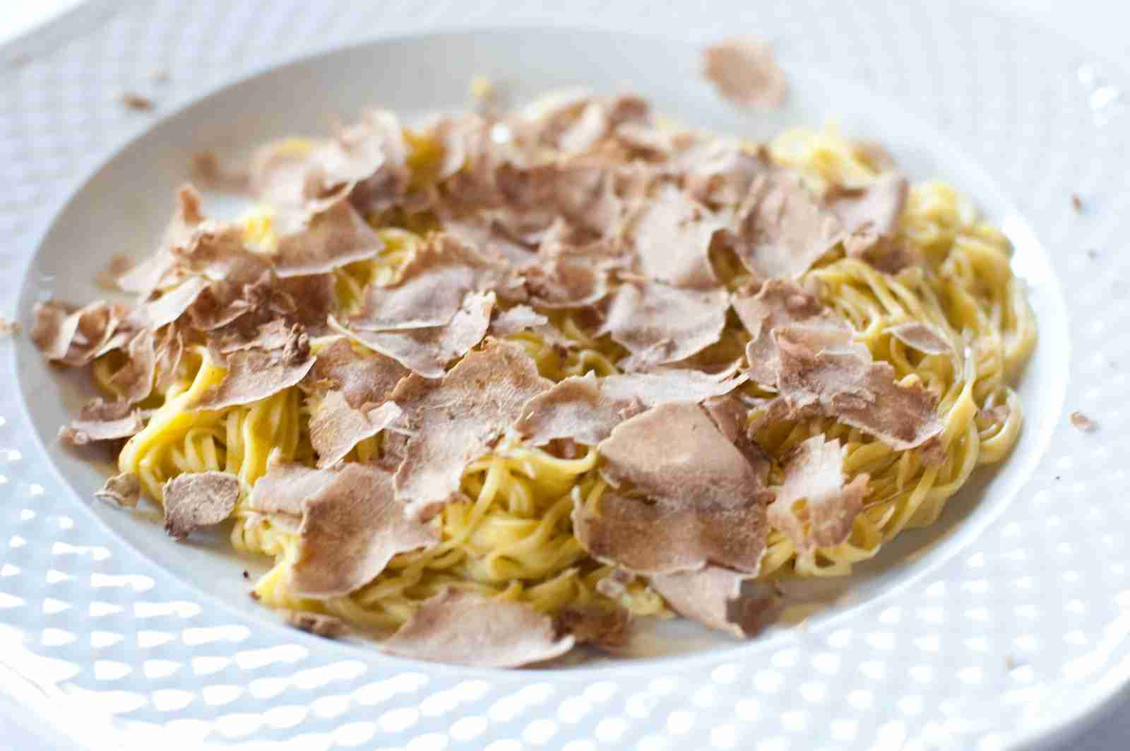 Truffle Tajarin. (Photo by giovanni1232/Getty Images)