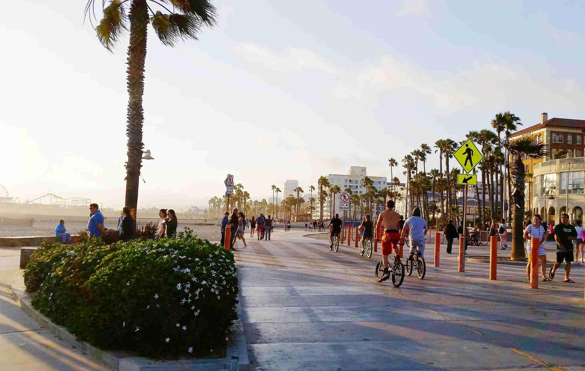Santa Monica represents quintessential LA at its best. (photo credit: stellalevi)