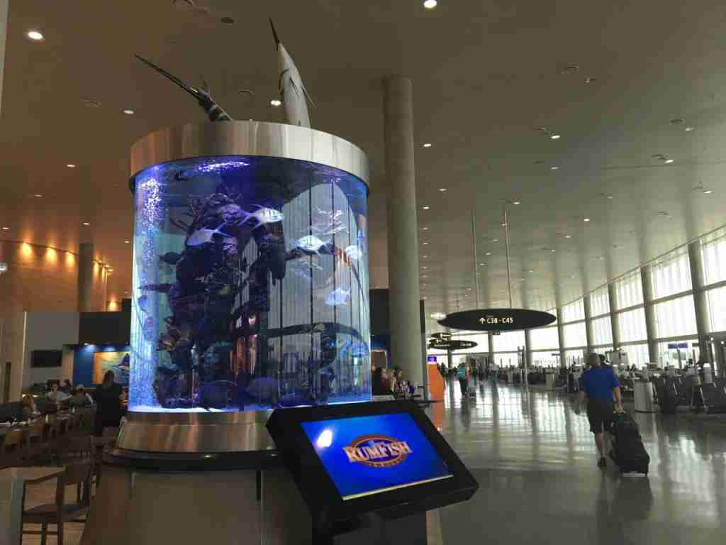 The RumFish Grill at Tampa International Airport.