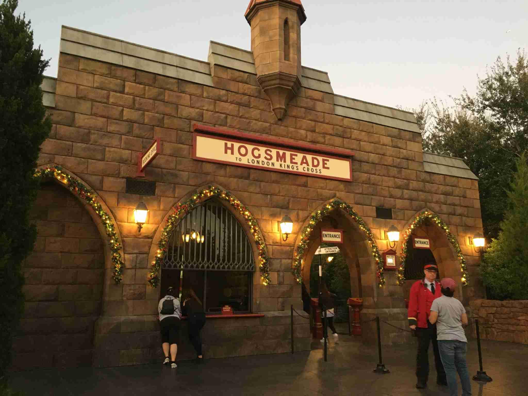 Hogwarts Express - Hogsmeade Station