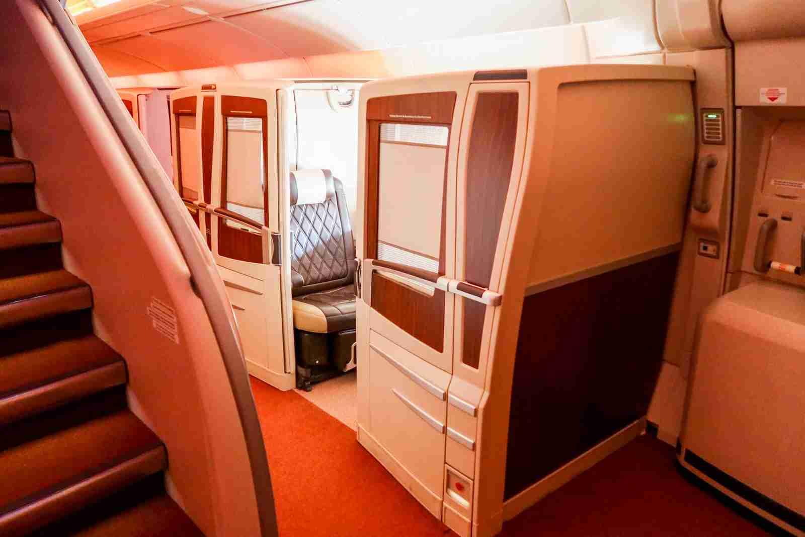 Singapore Suites on Singapore Airlines