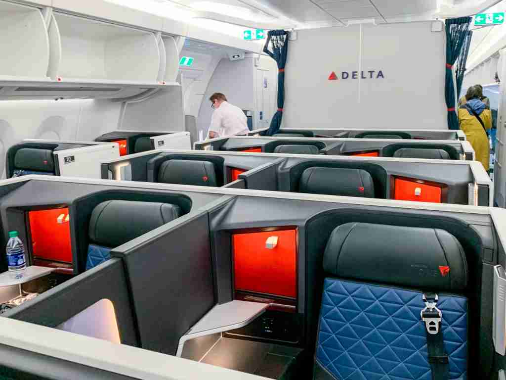 You can book Delta One awards for very low rates by transferring your Membership Rewards points to Virgin Atlantic (Photo by Ethan Steinberg/The Points Guy)