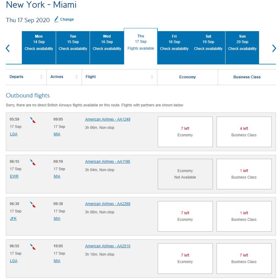 How To Book Award Flights Using British Airways Avios